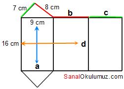 üçgen prizma açınım cevap