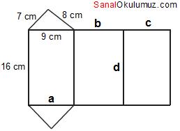 üçgen prizma açınım sorusu